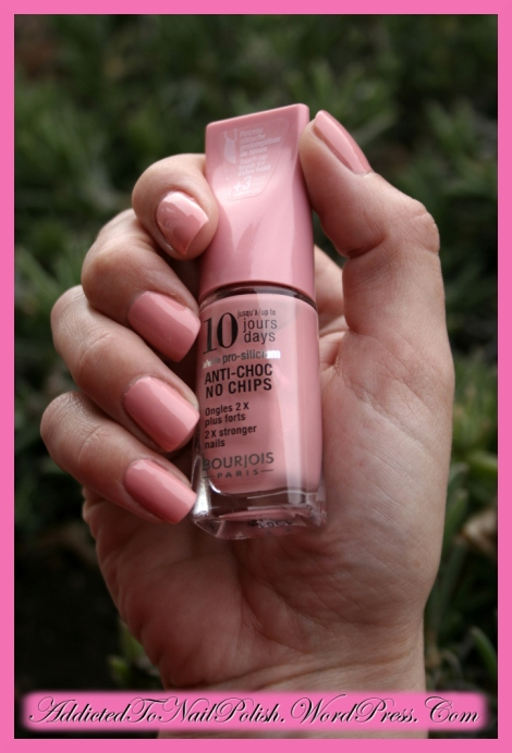 Manicure swatch: Bourjois 10 days nr.14 review!