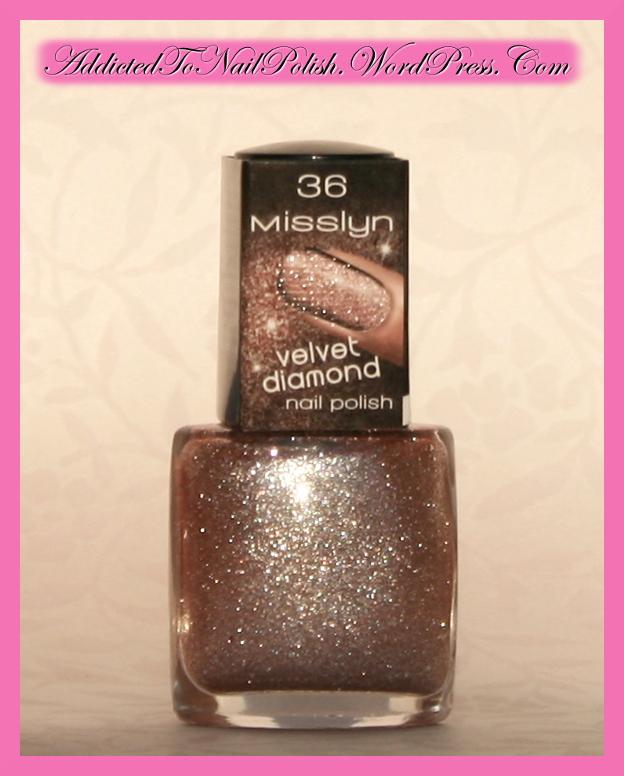 Velvet Nail Polish: Haul: Misslyn Velvet Diamond Nail Polishes!