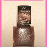 Haul: Misslyn Velvet diamond nail polishes!
