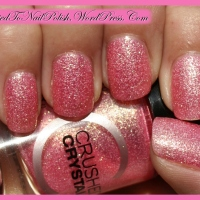 Manicure swatch & review: Catrice LE Crushed Crystals - 06 Call Me Princess