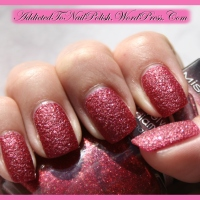 Swatch & Review: Misslyn Velvet Diamond nr. 48 - Heart stopping