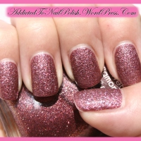 Swatch & Review: Misslyn Velvet Diamond nr. 47 - Bright Love