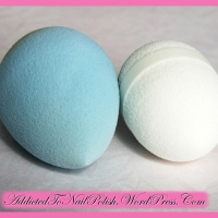 Comparison: Sephora 3D precision sponge vs. Beauty blender dupe from Tedi