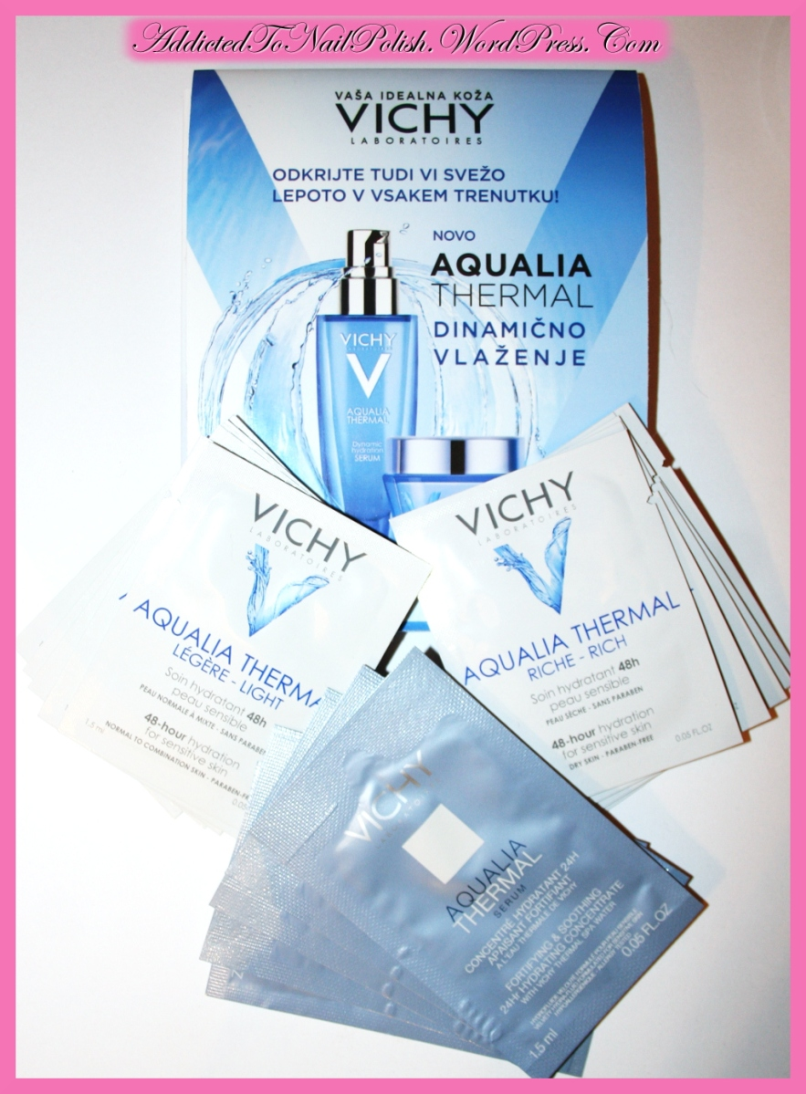 New samples in: Vichy Aqualia Thermal line!