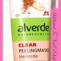 Review: Alverde Clear peeling mask Healing soil (Peelingmaske Heilerde)