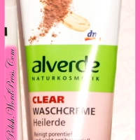 Review: Alverde Clear Washing cream Healing Soil (Waschcreme Heilerde)